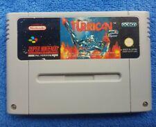 SUPER TURRICAN 2 - Super Nintendo - Rare & Genuine - SNES Game - PAL - UKV