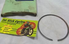 NOS YAMAHA SNOWMOBILE 1ST OVER PISTON RINGS 1975 GPX433  889-11611-10 OEM
