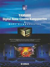 Yamaha catalogue prospectus dspax 1 rxv2095 DSPA 2 ax892 mx1 mx2 cx1 cx2 cdx596 tx492