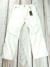 BNWT G Star Raw Motor 5620 3D Loose Embro White Jeans W31 L30