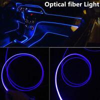 4M*Car Interior Decorative Optical Fiber Light Dash Trim Mounting LED Strip Lamp