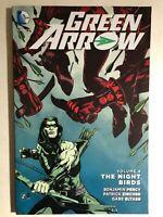 GREEN ARROW volume 8 The Night Birds (2016) DC Comics TPB 1st VG+