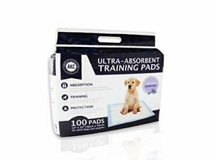 """American Kennel Club Lavender Scented Training Pads White and Light Blue 22""""""""..."""