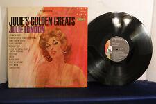 Julie London, Julie's Golden Greats, Liberty Records LST 7291, 1963 Pop