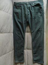 G-star Raw 3301 slim coj jeans mens w 42 l 36 green dark lime boggy