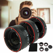 Auto Focus Macro Extension Tube Adapter Set for Canon all EF & EF-S Lenses F3G6