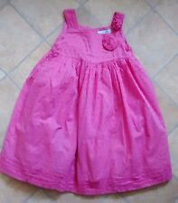 Girls Maggie & Zoe pink summer party dress age 5 years very good condition