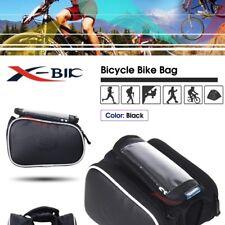 Bici Bicicleta Tubo Frontal Móvil Alforjas Sillín Bolsa Funda Cubierta Soporte