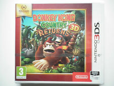 Donkey Kong Country Returns 3D Jeu Vidéo Nintendo 3DS