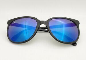 Vintage B&L Ray Ban Bausch & Lomb G15 Blue Mirror Cats 1000 Ebony Frame