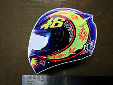 Valentino Rossi Decal Sticker Moto GP laptop helmet bike car scooter 46 agv LID1