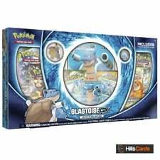 Pokemon Blastoise GX Premium Collection Box | Inc Booster Packs & Promo Cards