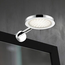 WOFI LED Applique murale Suri 1-FLG chrome éclairage Miroir