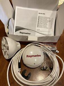 Raymarine Raystar 130RS SeaTalk NG GPS Antenna Sensor w/ cable and base mount