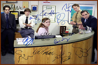 4x6 SIGNED AUTOGRAPH PHOTO REPRINT of The Office Cast