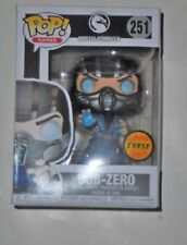 New in hand Funko Pop Mortal Kombat sub zero limited chase edition figure 2017