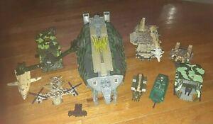Kenner Mega Force Triax Goliath Mobile Battle Headquarters 1989 +Vehicles Mexico