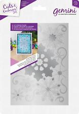 SNOWFLAKE SWIRLS - Crafters Companion Gemini Christmas Cut & Emboss Folder