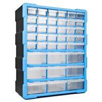 DIY Storage Organiser Unit - Small Parts Craft Box Stationary Cabinet Drawers