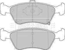 BORG BBP1684 BRAKE PAD SET DISC BRAKE Front