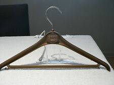 TED LAPIDUS Vintage Clothing Designer Hanger From the Fifth Ave. Boutique 1970s