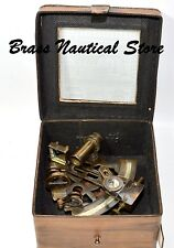 Solid Nautical Sextant Brass Working Instrument Astrolabe Ships Maritime Gift