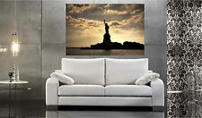 Statue of Liberty Repositionable Color Wall Sticker Print 52x36  HUGE!