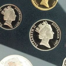 1997 10 cent Proof Coin in 2 x 2