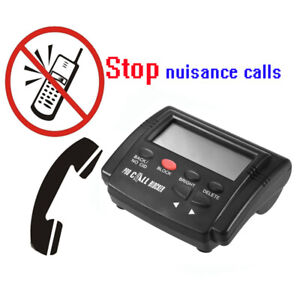 Call-Blocker Stop Nuisance Calls Devices with 1500 Numbers Capacity Black J2M1