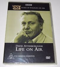 David Attenborough -  Life On Air (DVD, 2010) new, sealed