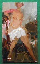 ORIGINALE dipinto ad olio Redhead Bob Capelli NUDE by petrenko: dare FINE ART
