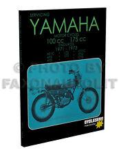1971-1972-1973 Yamaha Enduro Shop Manual 175 CT1C CT2 CT3 Cycleserv Repair Book