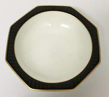 1 Villeroy & Boch Heinrich Black Pearl Fruit Sauce Dessert Bowl Bone China