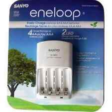 Sanyo Eneloop Battery Charger For Rechargeable Batteries Flashlight iPod Radio