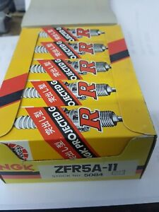 NGK ZFR5A-11 SPARK PLUGS X 10
