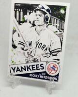 Rickey Henderson, New York Yankees AES Custom Card - 1987 Inspired