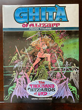 GHITA of ALIZARR The Thousand Wizards of URD - Frank Thorne - SEALED - 1st PRINT