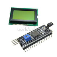 5V 12864 Yellow Green 128x64 LCD Display 1602LCD IIC/I2C/SPI Serial for Arduino