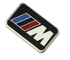 BMW M Metal Sticker Car steering wheel Body Decal for M1 M2 M3 M5 X1 X3 X5 X6 GT
