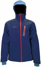 2117 Sweden Waterproof Snowboard Ski Jacket 10,000mm XXL Blue Navy Shell