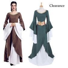 Renaissance Dress Medieval Cotton Costume Pirate Peasant Wench Victorian Chemise