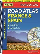 Philip's France and Spain Road Atlas  New trackable freepost Australia wide,