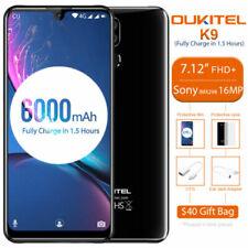 7.12 Zoll OUKITEL K9 4G Handy Android 9.0 Helip P35 Octa Core 4GB 64GB 6000mAh