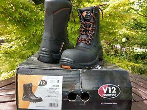 V12 Defiant IGS Safety Work Boots High Leg Zip Side V12E1300 Oil/Gas Industry