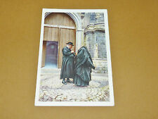 PHOTO CHOCOLAT COTE D'OR 1946 FOLKLORE BELGIQUE N°136 MALINES MECHELEN BEGUINAGE