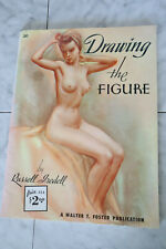 Vintage Walter Foster Art Book Drawing the Figure by Russell Iredell #20