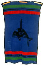 PENDLETON Wool Blanket Orca Tulalip Casino Indian Full Northwestern USA Charity!