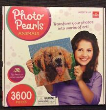Goliath Photo Pearls Animals No Heat Or Iron Needed Age 7+ Up