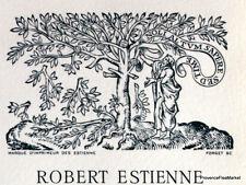 ECOLE ESTIENNE   Document Philatelique Officiel 0689