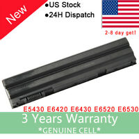 Battery for Dell Latitude E6420 E6540 E6440 71R31 T54F3 T54FJ 5.2Ah